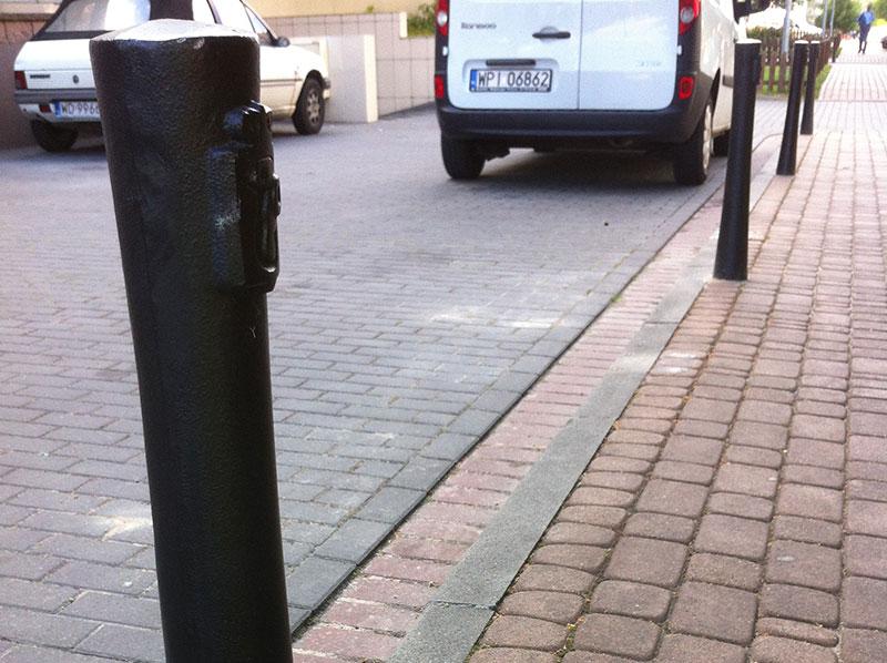Słupek Parkingowy Syrenka