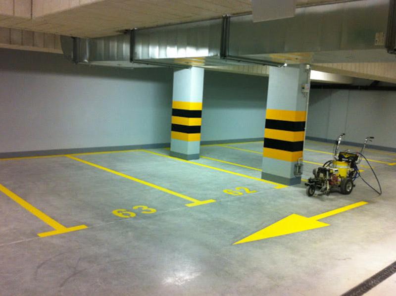Numeracja Miejsc Parkingowych