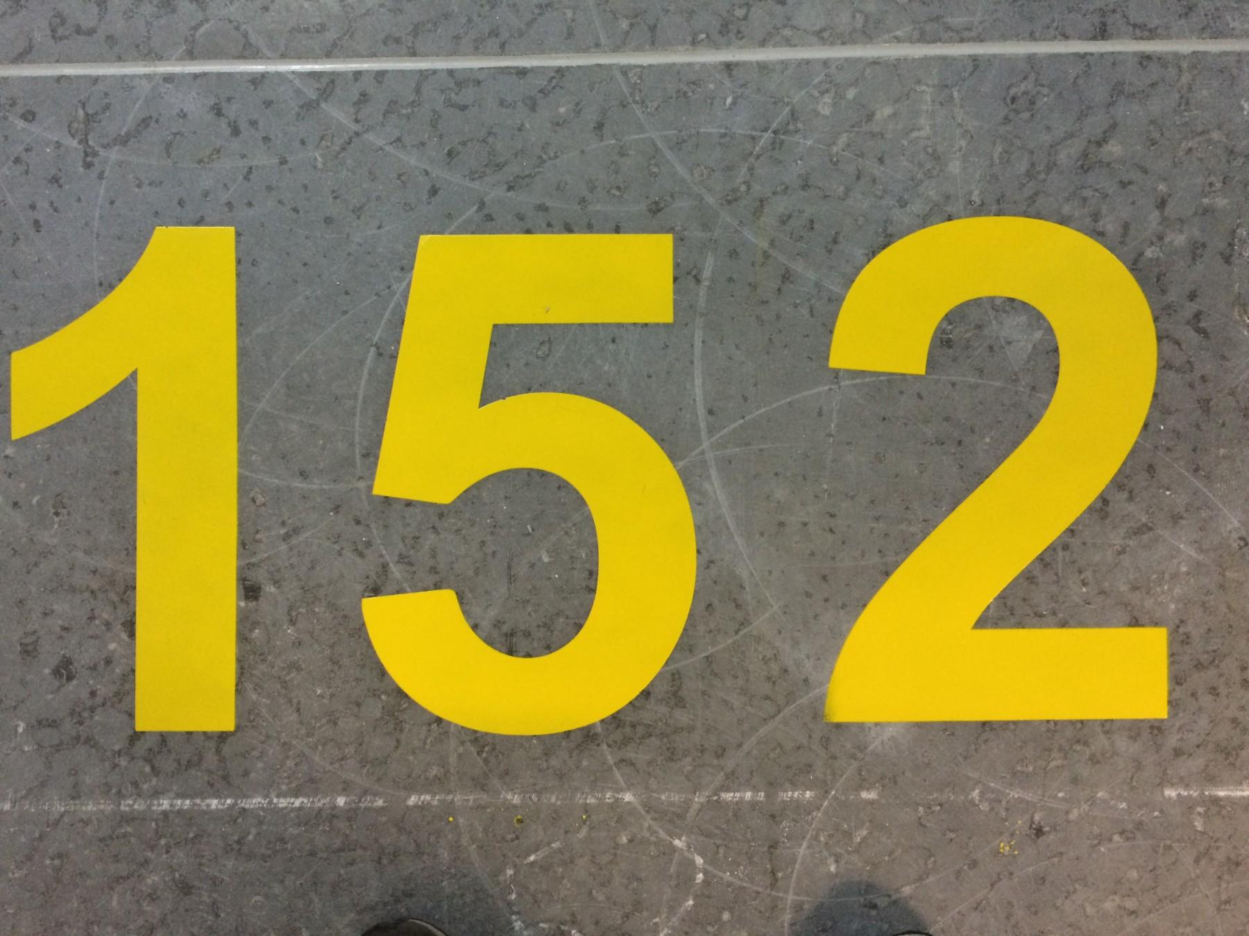 Numeracja Miejsc Postojowych